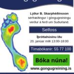 Lýður B. Skarphéðinsson sérfræðingur í göngugreiningu verður á ferð um Norðurland. (3)