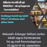 Bókasafnið lokað
