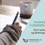 Fag_leikskoli_2020_Augl