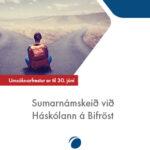 Sumarnám við Háskólann á Bifröst 310×400