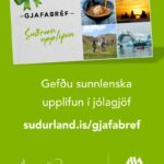 Gjafabref – Banner