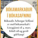 Bókamarkaður febrúar 2021