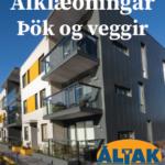 310×400 klæningar þök og veggir